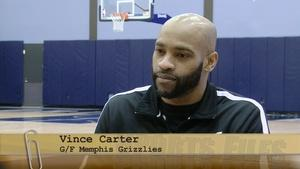 Memphis Grizzlies Player Vince Carter