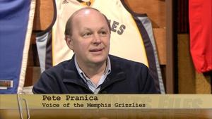 Television Voice of the Memphis Grizzlies, Pete Pranica