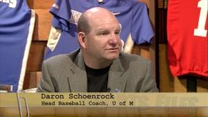 University of Memphis Baseball Coach Daron Schoenrock