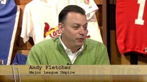 Major League Umpire Andy Fletcher