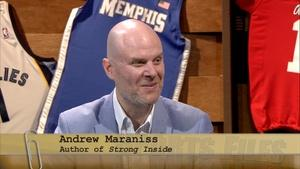 "Author of ""Strong Inside,"" Andrew Maraniss."