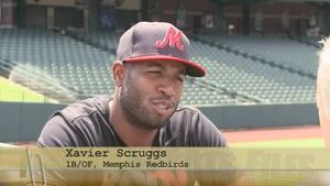 Memphis Redbirds Xavier Scruggs