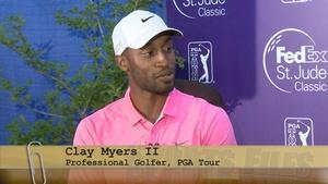 Pro Golfer Clay Myers II