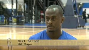 NBA Player Earl Barron