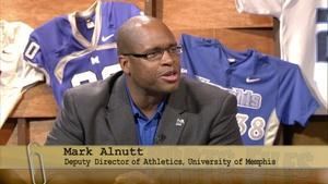 U of M Deputy Athletics Director Mark Alnutt