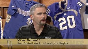 Memphis Tigers New Head Football Coach Mike Norvell