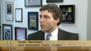 Tigers Basketball Head Coach Josh Pastner