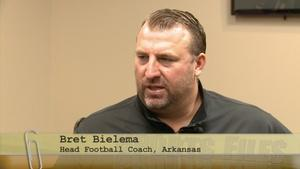 Razorbacks Head Football Coach Bret Bielema