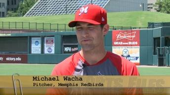 Memphis Redbirds Pitcher Michael Wacha