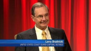 Retired Coast Guard Captain Larry Brudnicki