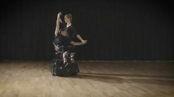 A chair fit for dancing