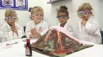 A pre-k program engages students with STEM