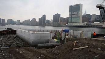 "Four Freedoms Park Time Lapse: ""The Room"" in Spring"