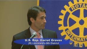 News Makers - 08/19/15 - Garret Graves, U.S. Representative