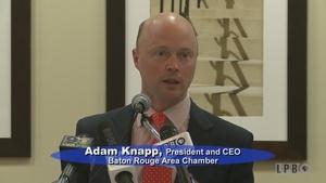 Press Club - 01/25/16 - Adam Knapp, Pres/CEO BR Area Chamber