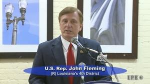 Press Club -5/2/16-U.S. Rep. John Fleming (R) 4th Dist.