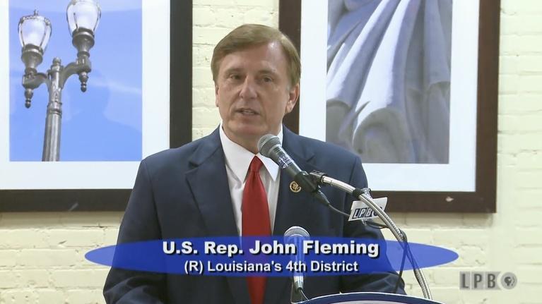 Press Club -5/2/16-U.S. Rep. John Fleming (R) 4th Dist.