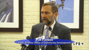 Press Club-01/09/17 - Pat Forbes, E.D. Office of Comm.Dev.