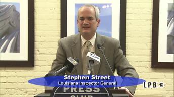 Press Club-01/30/17-Stephen Street, La. Insp. Gen.