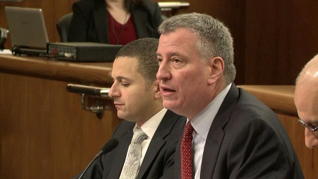 Mayor de Blasio's Visit to Albany