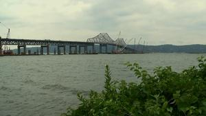 New Tappan Zee Bridge Under Construction
