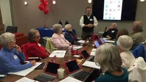Teaching Tech to Older Adults
