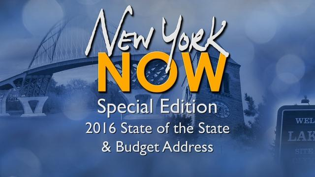 The 2016 State of the State and Budget Address