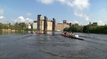 Rowing on the Buffalo River