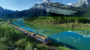 The Canadian Rockies by Rail