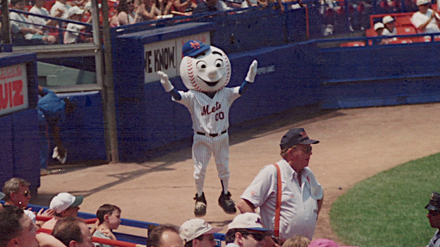 Yes, It's Hot In Here: Former New York Mets Mascot AJ Mass