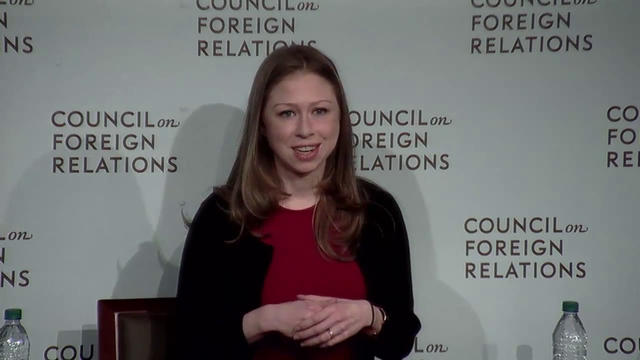 Women's Rights as Human Rights with Chelsea Clinton at CFR