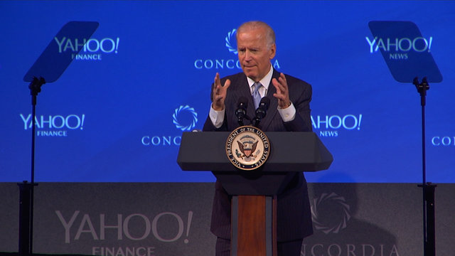 Listening In: VP Biden At Concordia Summit