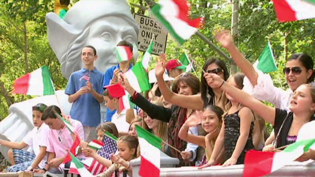 Italian Pride On Display At 71st Annual Columbus Day Parade