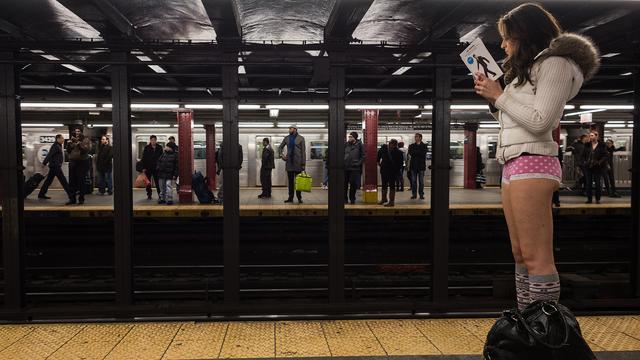 The Origin Of The 'No Pants Subway Ride'