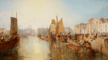 "NYC-ARTS Profile: ""Turner's Modern and Ancient Ports"""