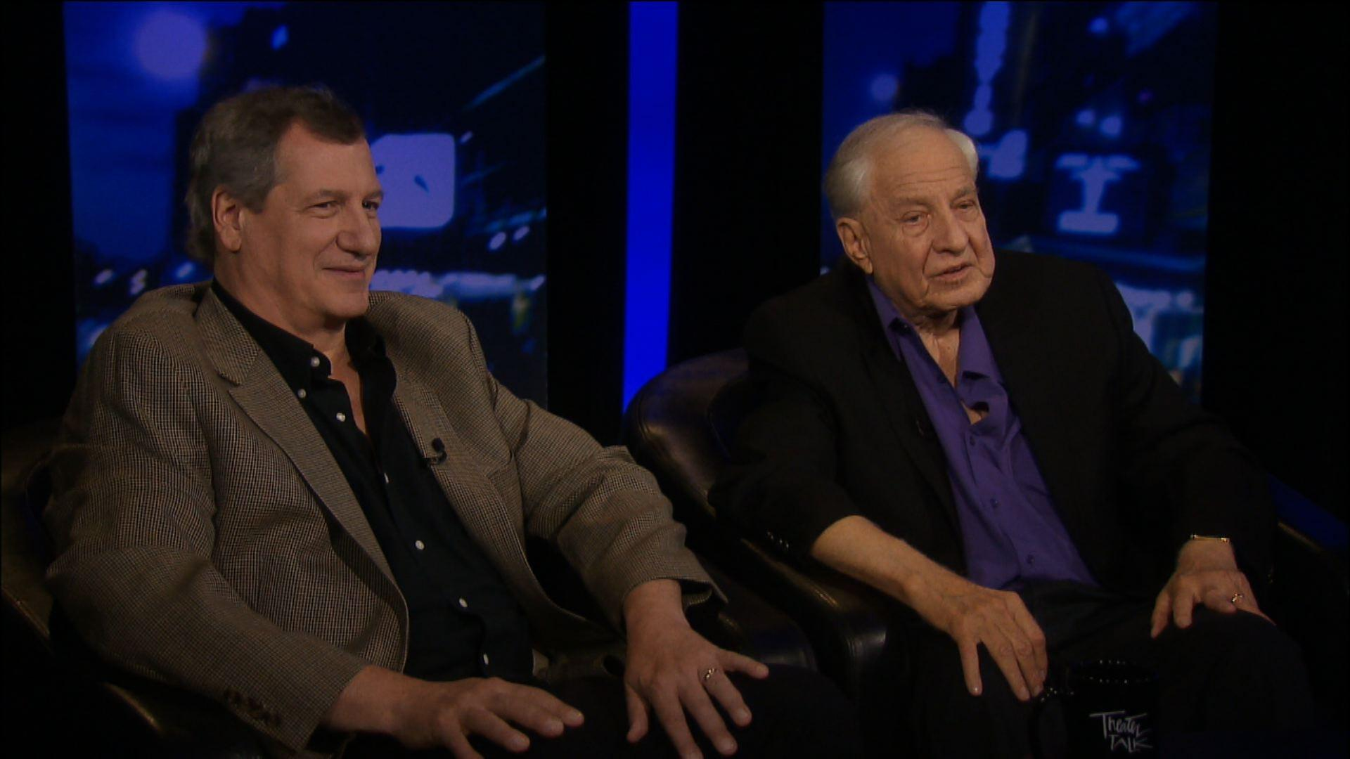 Remembering Garry Marshall: Marshall with Mike Bencivenga