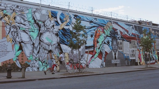 Brooklyn's Groundswell Mural Project
