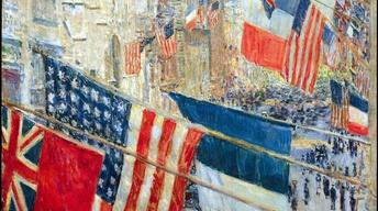 Childe Hassam, Allies Day, May 1917, 1917