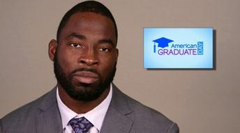 Justin Tuck for American Graduate Day 2013