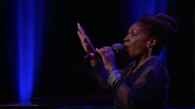 Catherine Russell sings
