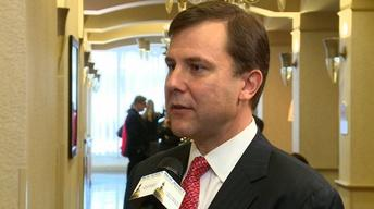 Senate President Stephen Sweeney; Senator Thomas Kean, Jr
