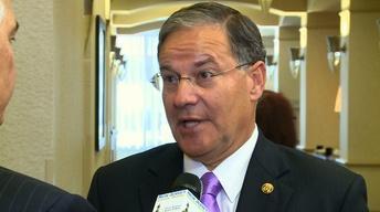 Assemblyman Jon Bramnick; Assembly Speaker Vincent Prieto