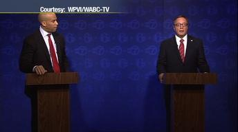 Booker and Lonegan Meet in First Debate
