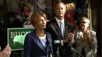 Buono Campaigns in Trenton with Maryland Governor