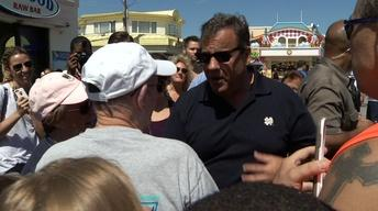 Christie Visits Shore Ahead of Labor Day