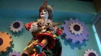 Mechanical Dolls Like Ones in 'Hugo' Displayed at Morris...