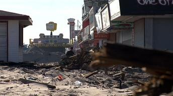 Assembly Members Tour Sandy Damage in Seaside Heights