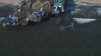 Aerial Views Show Jersey Shore Damage from Hurricane Sandy