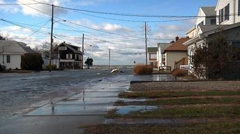 Winter Storm Brings More Flooding to Seaside Park