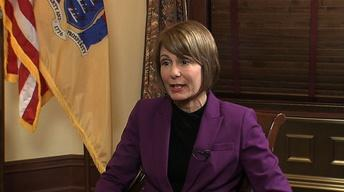Barbara Buono Discusses Her Run for Governor